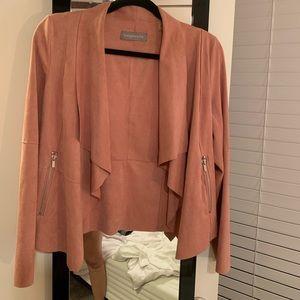 Pink Blazer with Zipper pockets